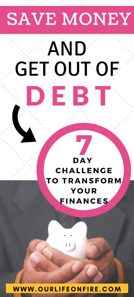 7 Day Challenge to Transform Your Finances - Man Holding a Piggy Bank