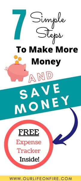 7 Simple Steps to Save and Make Money - Piggy Bank