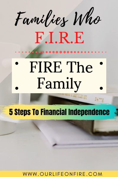 An family with a goal of Financial Independence