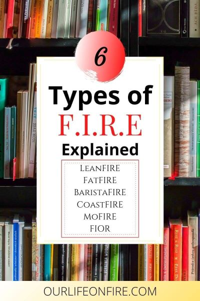Educate yourself on the 6 types of F.I.R.E.