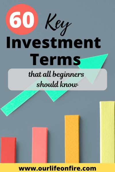 Graph in Background - Investment Terms to Know