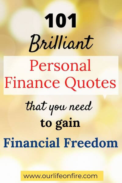 Finance Quotes for Financial Freedom