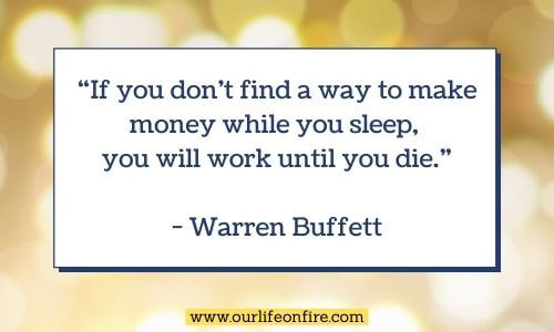 Warren Buffett Personal Finance Quote