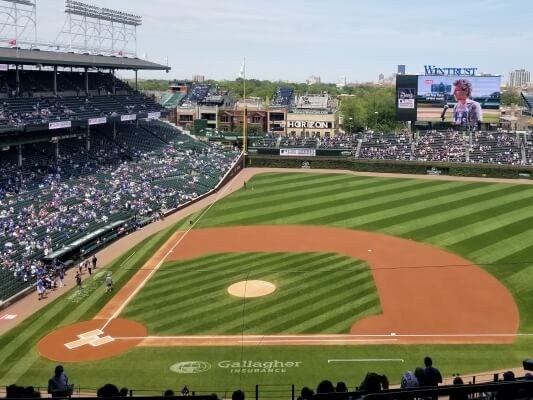 Wrigley Field before a Cubs Game